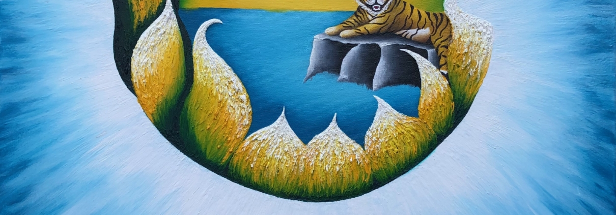 Mystical Journey   Oil Painting by Xela, Amsterdam