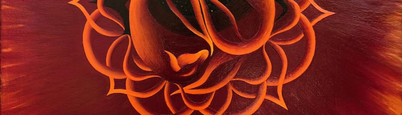 Cosmic Dreams   Oil Painting by Xela, Amsterdam