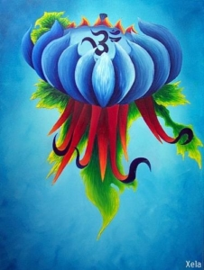 OmFlower | Oil Painting by Xela, Amsterdam