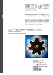 Xela's World of Art Honorary Award